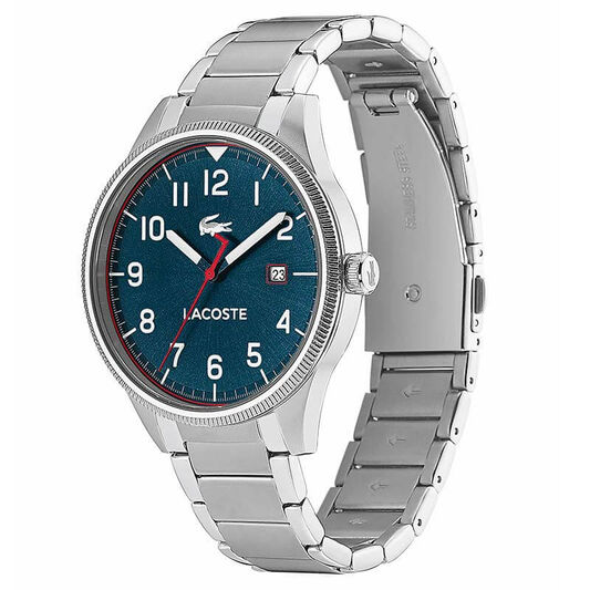 Lacoste Men's Continental Stainless Steel Watch