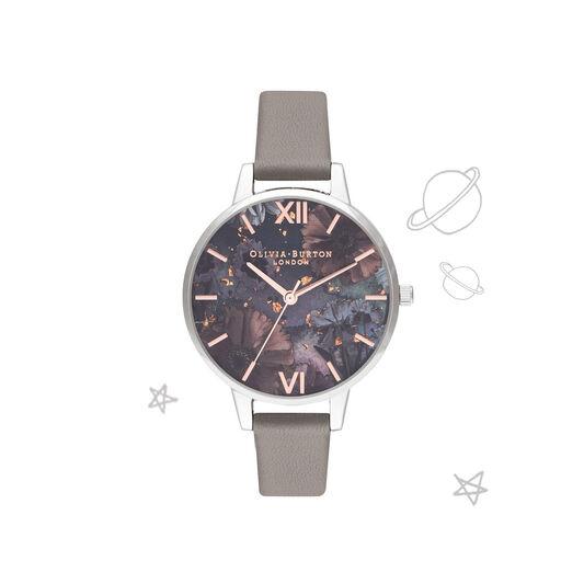 Celestial Grey & Silver Watch