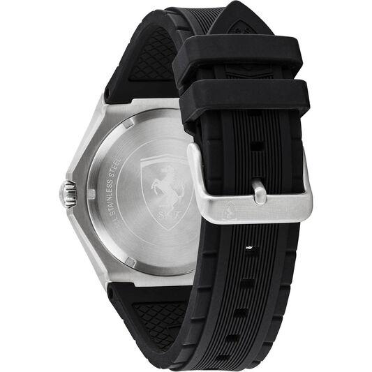 Scuderia Ferrari Men's Aspire Black Silicone Watch
