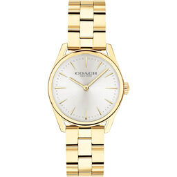 Coach Ladies Modern Luxury Gold Plated Watch