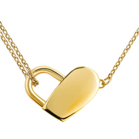 BOSS Ladies Soulmate Gold Plated Necklace