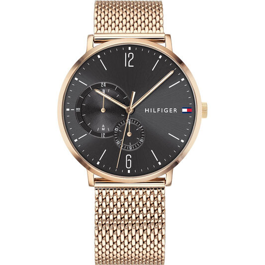 Tommy Hilfiger Men's Carnation Gold Plated Watch