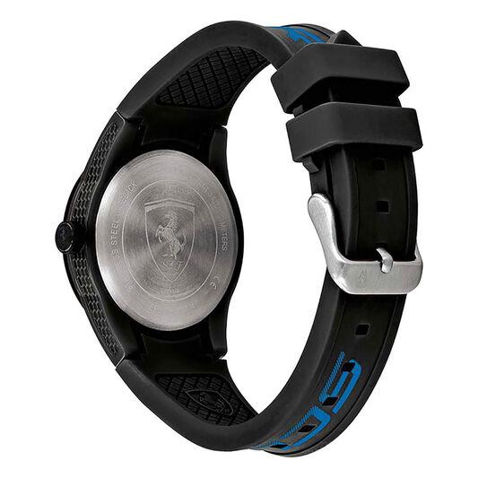 Scuderia Ferrari Men's RedRev Black Silicone Watch