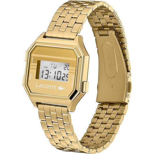 Lacoste Unisex Berlin Gold Plated Watch
