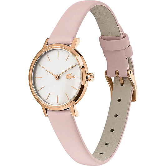 Lacoste Ladies Moon Pink Leather Watch