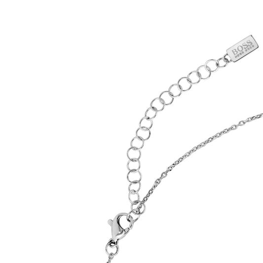 BOSS Ladies Signature Stainless Steel Necklace