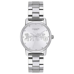 Coach Ladies Grand Stainless Steel Watch
