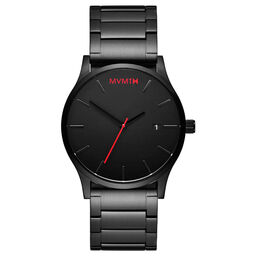 MVMT Men's Classic  Black Plated Watch