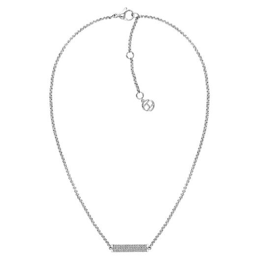 Tommy Hilfiger Ladies Silver Chain Necklace