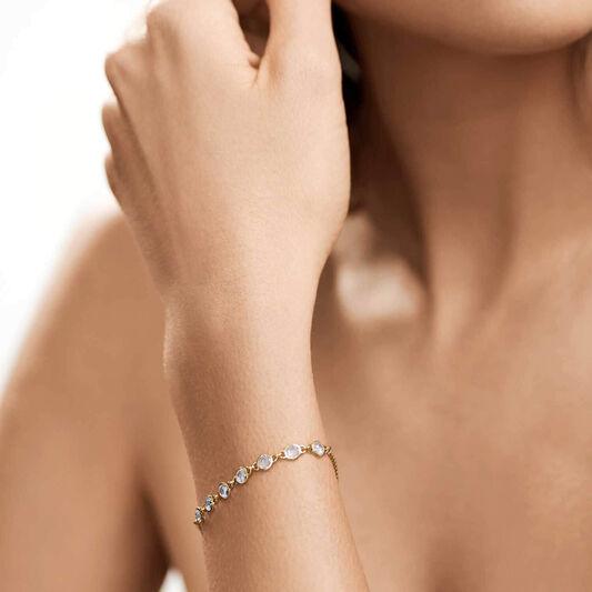 Tommy Hilfiger Ladies Gold Embellished Bracelet