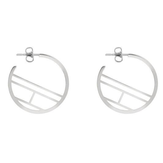 Tommy Hilfiger Ladies Flag Earrings