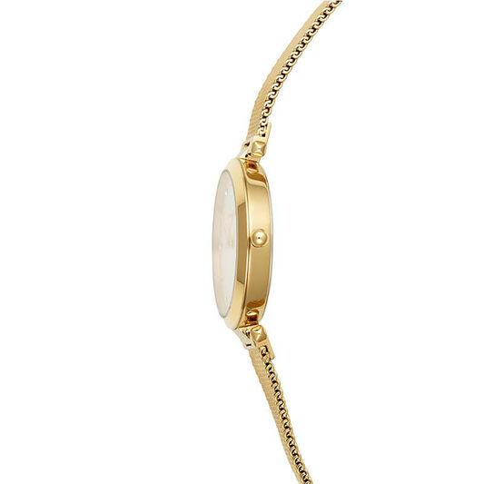 Rebecca Minkoff Ladies Nina Gold Plated Watch