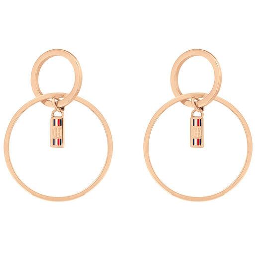 Tommy Hilfiger Ladies Circle Earrings