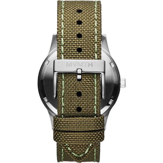 MVMT Men's Field Green Canvas Watch