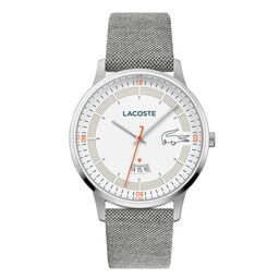 Lacoste Men's Madrid Light Grey Textile Strap Watch