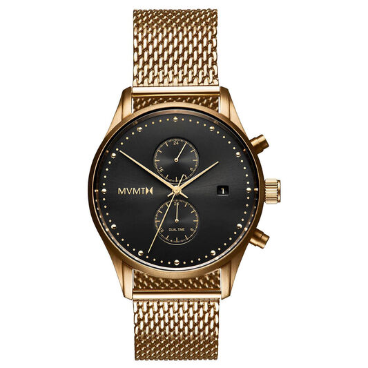MVMT Men's Voyager Gold Plated Watch