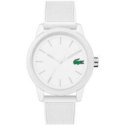 Lacoste Men's Lacoste.12.12 White Silicone Watch