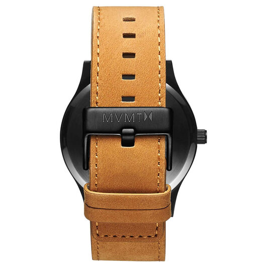 MVMT Men's Classic Tan Leather Watch