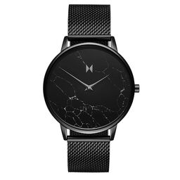 MVMT Ladies Boulevard Black Plated Watch