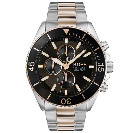 BOSS Men's Ocean Edition Two Tone Stainless Steel Watch
