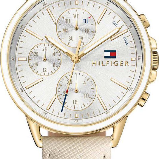 Tommy Hilfiger Ladies Nude Leather Watch