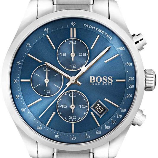 BOSS Men's Grand Prix Stainless Steel Watch