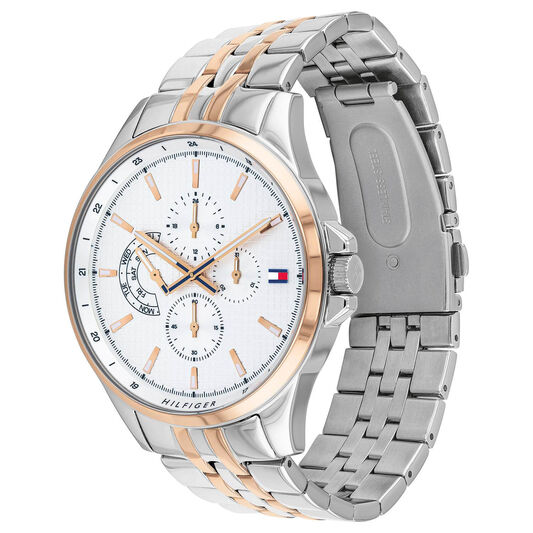 Tommy Hilfiger Men's Two Tone Stainless Steel Watch