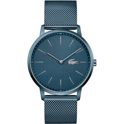 Lacoste Men's Moon Blue Plated Watch