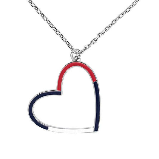 Tommy Hilfiger Ladies Heart Chain Necklace