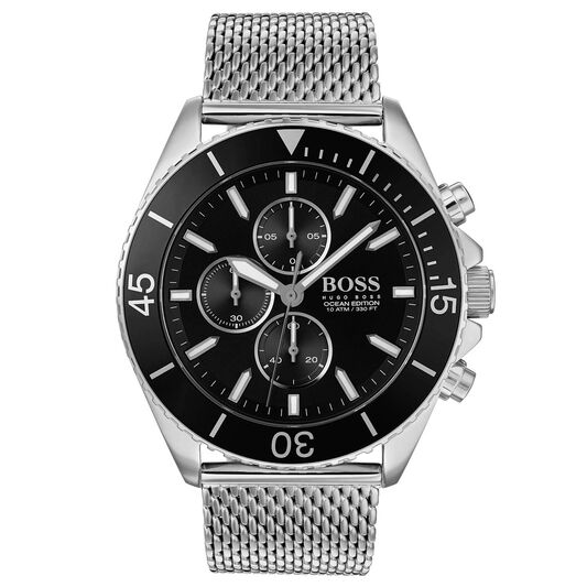 BOSS Men's Ocean Edition Stainless Steel Watch