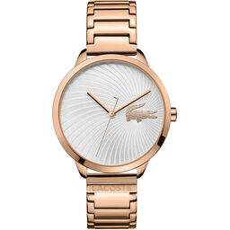 Lacoste Ladies Lexi Rose Gold Plated Watch