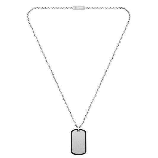 BOSS Men's ID Stainless Steel Necklace