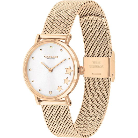 Coach Ladies Perry Rose Gold Plated Watch