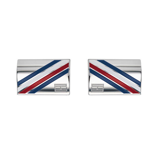 Tommy Hilfiger Men's Logo Cufflinks