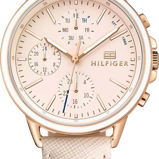 Tommy Hilfiger Ladies Blush Leather Watch