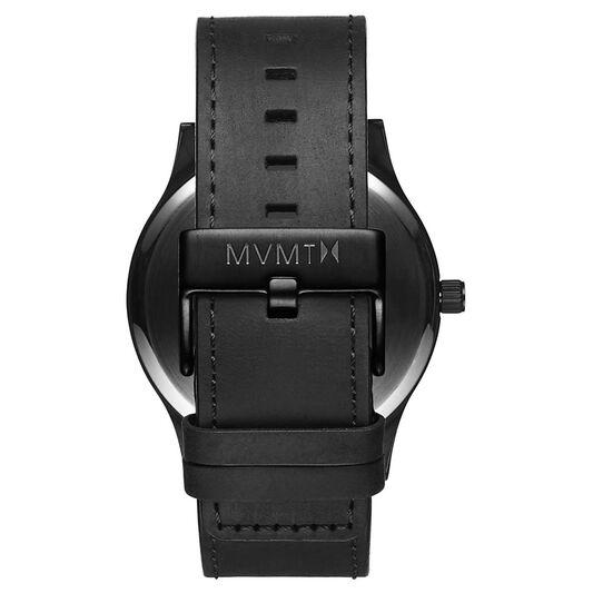 MVMT Men's Classic Black Leather Watch