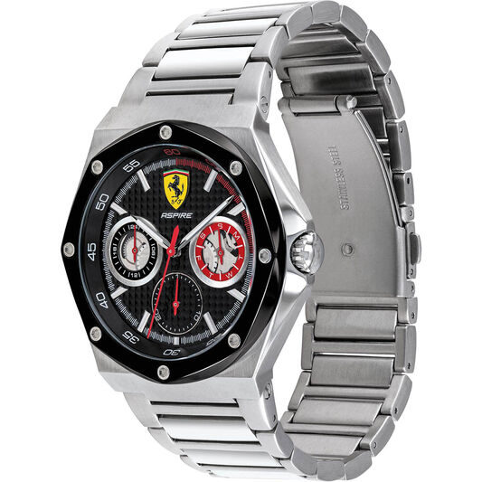 Scuderia Ferrari Men's Aspire Stainless Steel Watch