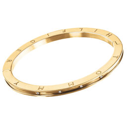 Tommy Hilfiger Ladies Gold Crystal Bangle
