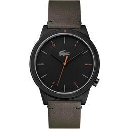 Lacoste Men's Motion Khaki Leather Watch