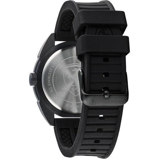 Scuderia Ferrari Men's Forza Black Plated Watch
