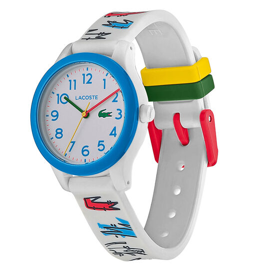 Lacoste Kids Lacoste.12.12 Grey Silicone Watch