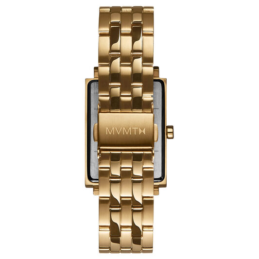 MVMT Ladies Signature Square Gold Plated Watch