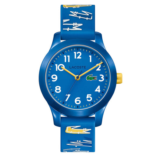 Lacoste Kids Lacoste.12.12 Blue Silicone Watch