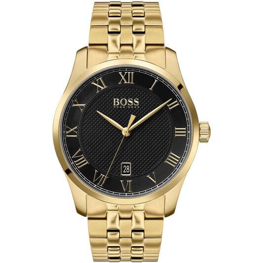 BOSS Men's Master Gold Plated Watch