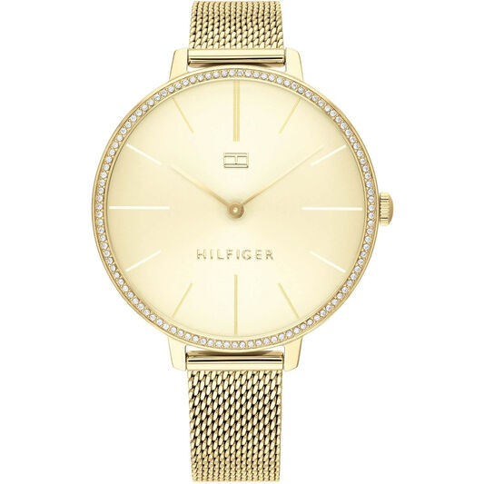 Tommy Hilfiger Ladies Gold Plated Watch