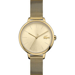 Lacoste Ladies Cannes Gold Plated Watch