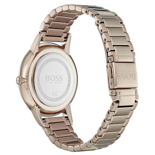 BOSS Ladies Twilight Carnation Gold Steel Watch