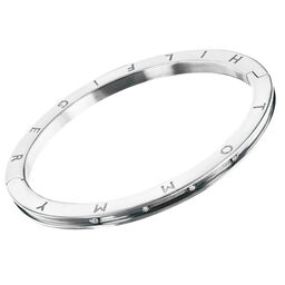 Tommy Hilfiger Ladies Silver Crystal Bangle
